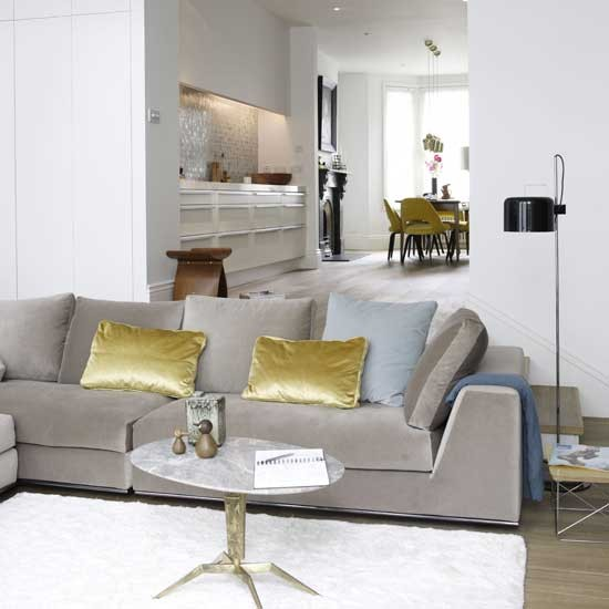 Open-plan living room - housetohome