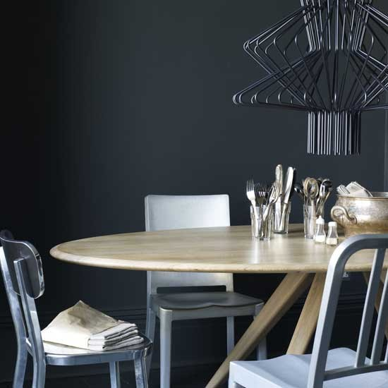 Modern industrial dining room Letc - housetohome
