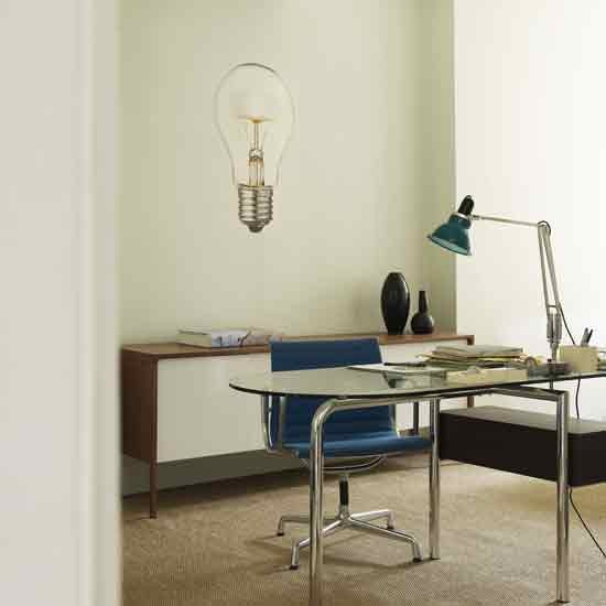 Lightbulb home office Letc - housetohome
