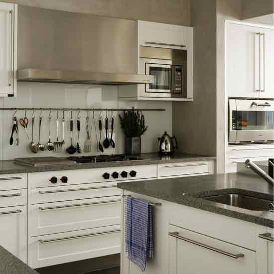 Sleek kitchen storage Ikea hanging kitchen storage