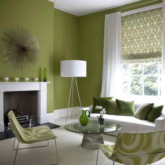 Green Livingroom Beauteous With Modern Green Living Room Picture