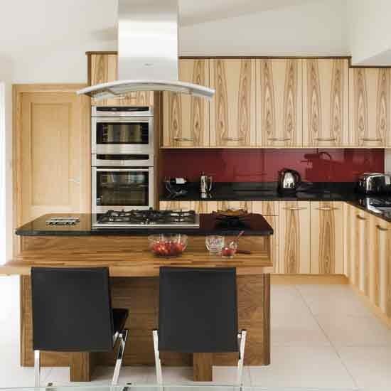 Olive wood kitchen - Cocinas con isla central ...