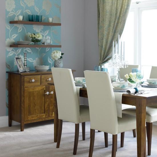 Glamorous dining room IH - housetohome