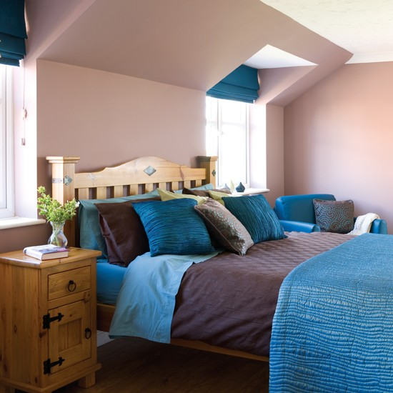 Brown Teal Bedroom Decorating Ideas-housetohome.media.ipcdigital.co.uk