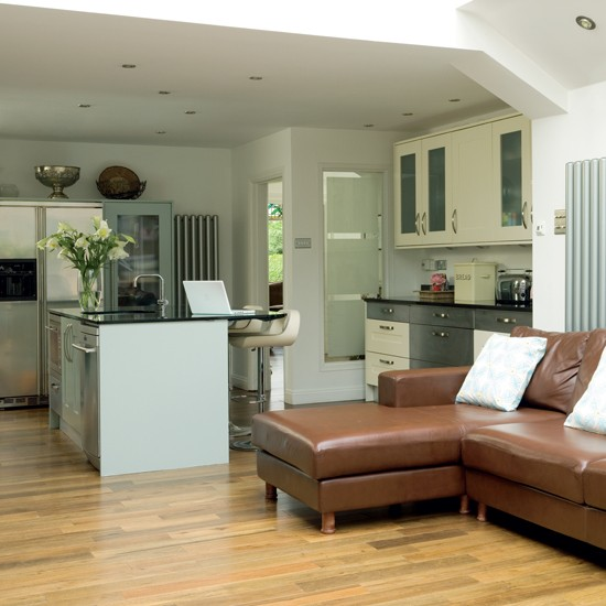 Open-plan room - housetohome
