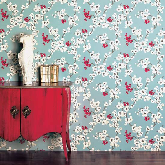 floral addiction the latest wallpaper trends