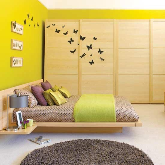 Yellow bedroom | Modern bedrooms | PHOTO GALLERY