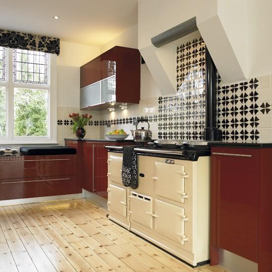Cream contemporary kitchen BK - housetohome