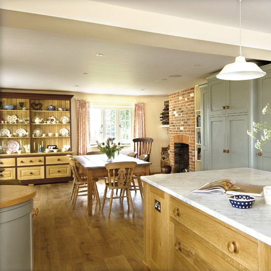 cottage style dining room housetohome co uk eclectic home tour aka design