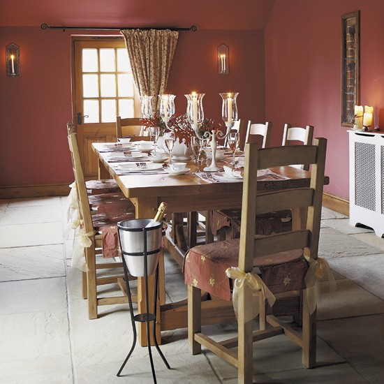 Banquet dining room | Dining room ideas | Image | Housetohome