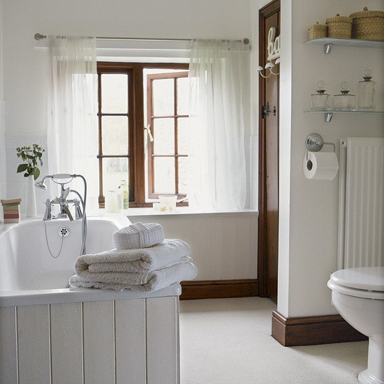 Bathroom accessories matalan - Light And Fresh Bathroom Bathroom Idea Linen Image Housetohome