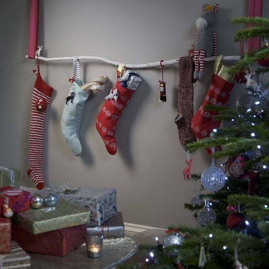 Hang Stockings Without A Fireplace High impact Low