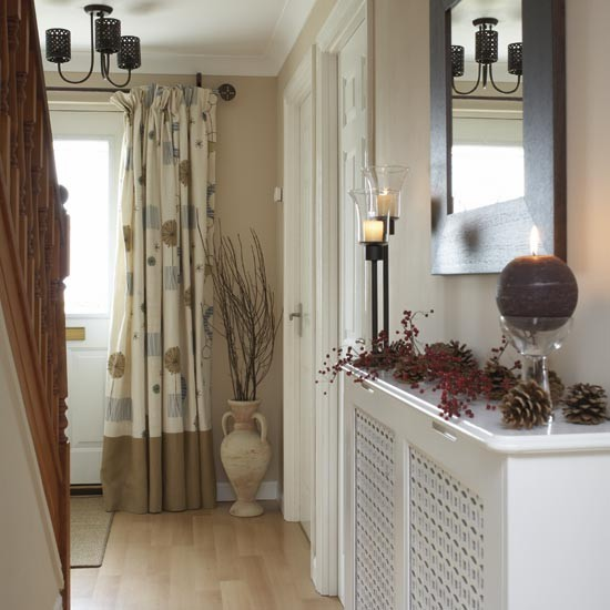 Neutral hallway for Hallway decorating ideas