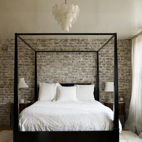 brick walls bedroom housetohome co uk
