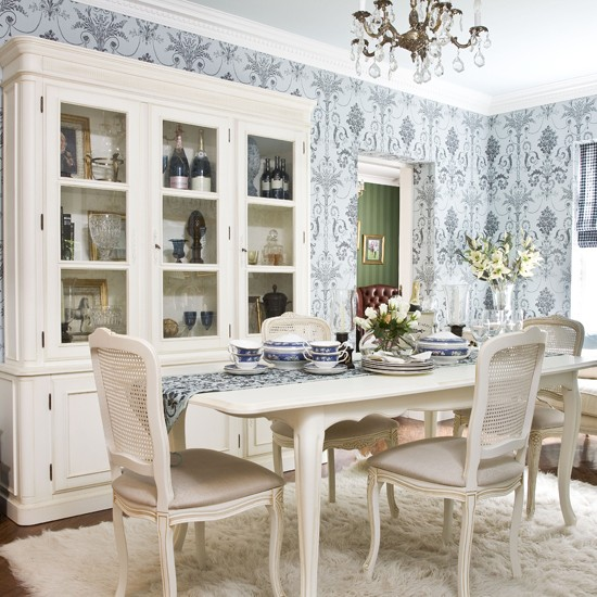 Floral dining room | Dining room ideas | Image | Housetohome