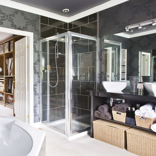 Modern shower room | Bathroom vanities | Decorating ideas | Image | Housetohome