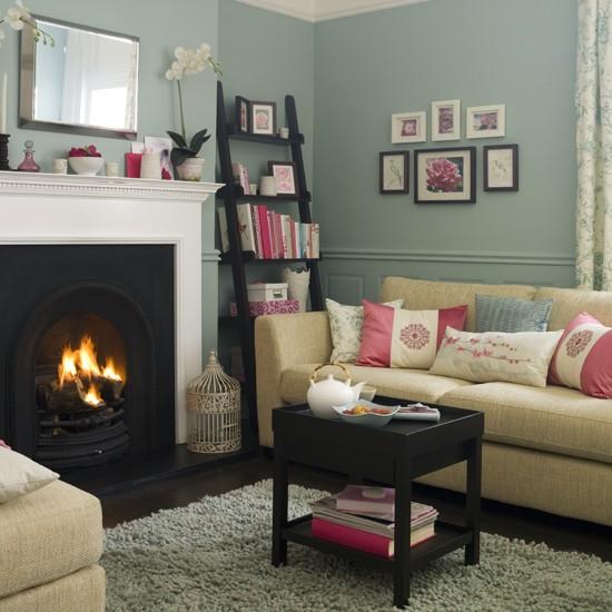 Oriental-style living room IH - housetohome