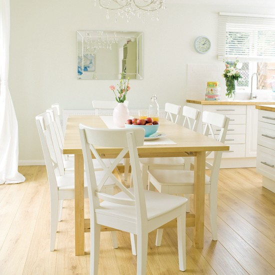 Light and airy kitchen | Kitchen-diner | Kitchen-diner ideas | Image | Housetohome