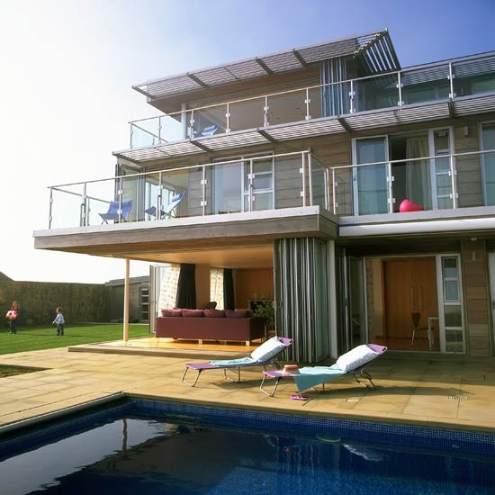 Pool | Coastal home | Beach house tour | PHOTO GALLERY | housetohome.co.uk