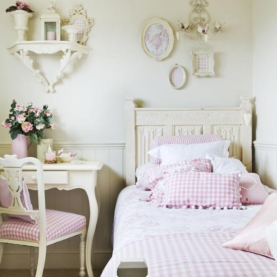 French-style children's bedroom