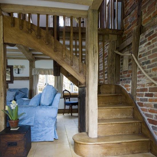 Rustic hallway | Hallways | Hallway ideas | Image | Housetohome