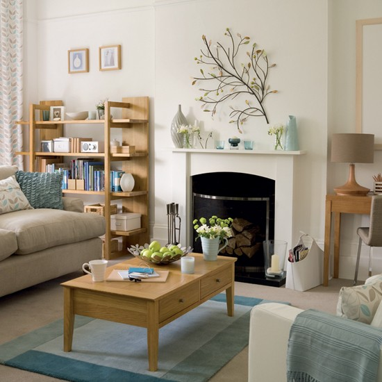 Designer style living room for Small neutral living room ideas
