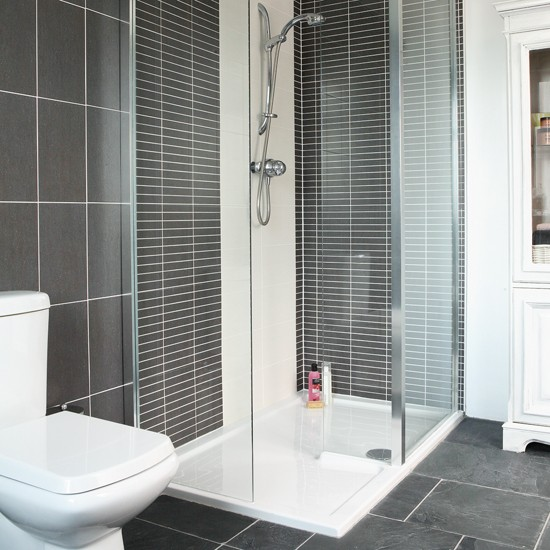 sleek shower shower rooms shower room ideas image housetohome