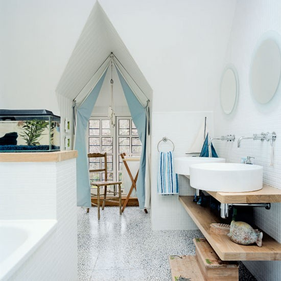 Nautical bathroom | Bathrooms | Bathroom ideas | Image | Housetohome