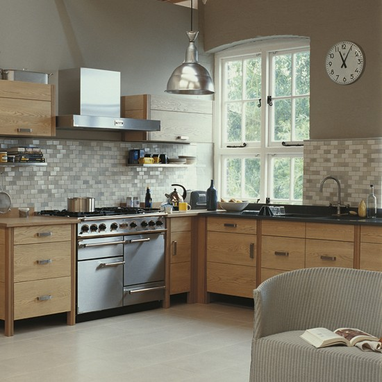 Fired earth 39 s new jura kitchen for Home wallpaper fired earth
