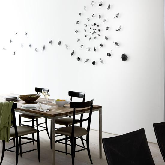 Shell art dining room | Dining rooms | Dining room ideas | Image | Housetohome