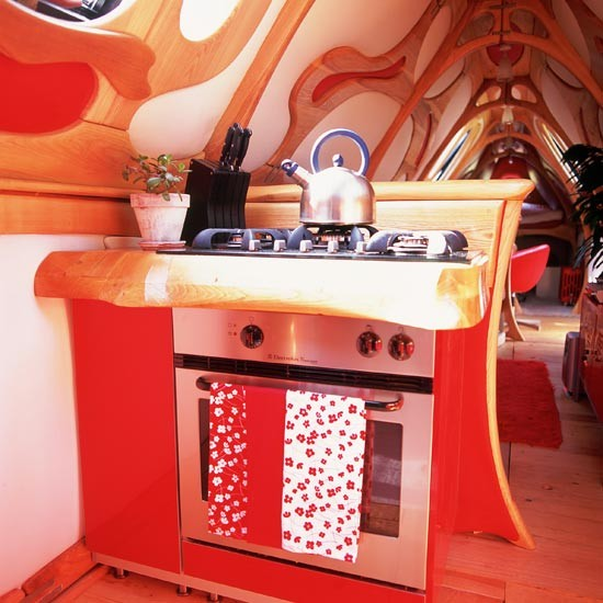 Narrowboat kitchen | Kitchens | Weird and wonderful kitchens | Unusual design | PHOTO GALLERY | Housetohome.co.uk