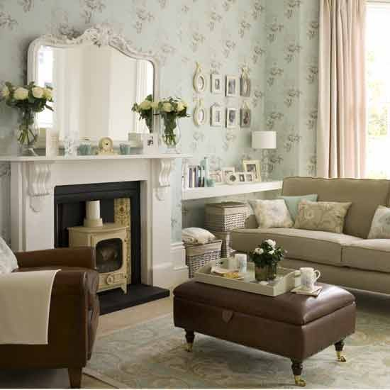 Modern vintage living room living rooms living room ideas image