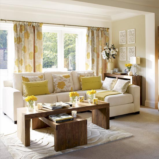 Spring fresh living room living rooms living room for Spring living room ideas
