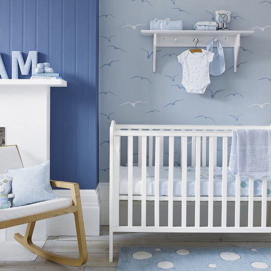 Blue skies children's room | Children's room | Bedroom ideas | Image | Housetohome