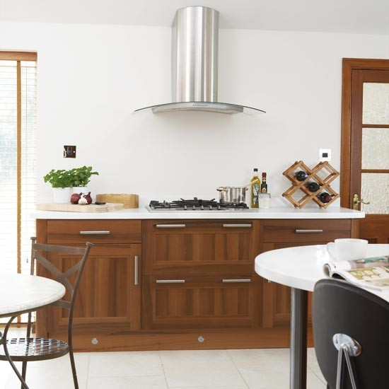 Modern walnut kitchen   Kitchens   Kitchen ideas   Image   Housetohome
