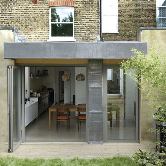 How to build a side return extension for Building a kitchen extension ideas