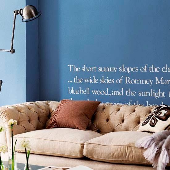 Letters living room | Living rooms | Living room ideas | Image | Housetohome