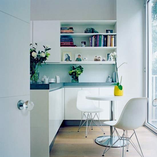 Minimalist kitchen-diner | Kitchen-diners | Dining ideas | Image | Housetohome