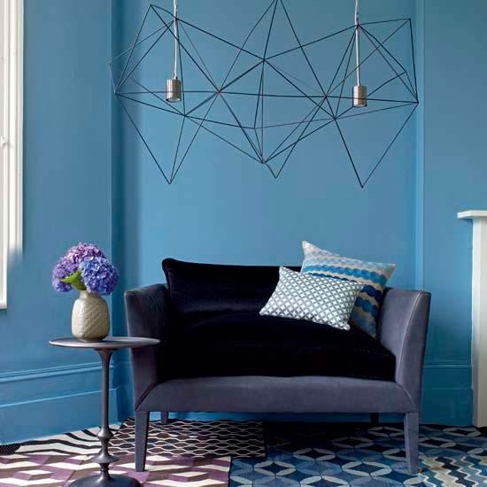 Patchwork flooring living room | Living rooms | Living room ideas | Image | Housetohome