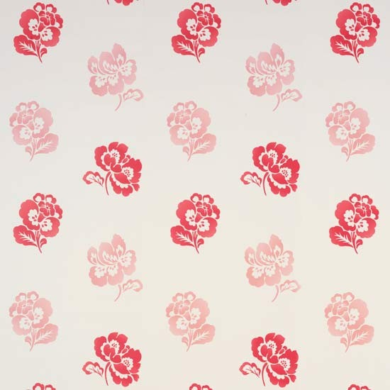 Laura Ashley Kitchen Wallpaper: Adriana Wallpaper In Cranberry From Laura Ashley