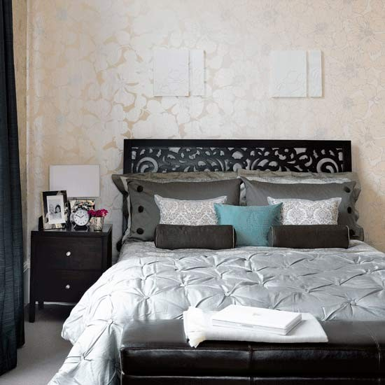 chic silhouettes bedroom sophisticated design ideas oriental style