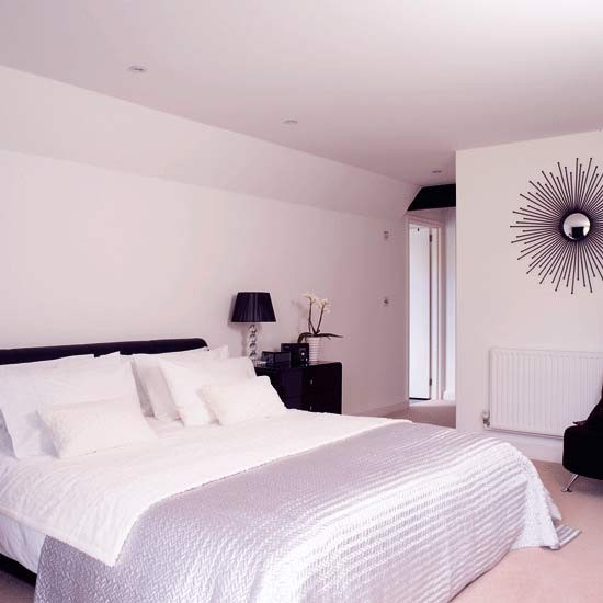 Monochrome bedroom | Hotel-chic designs | Image | housetohome