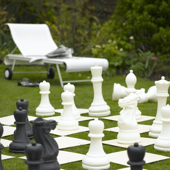 Outdoor chess set | Weird and wonderful garden | Garden design | PHOTO GALLERY | Livingetc