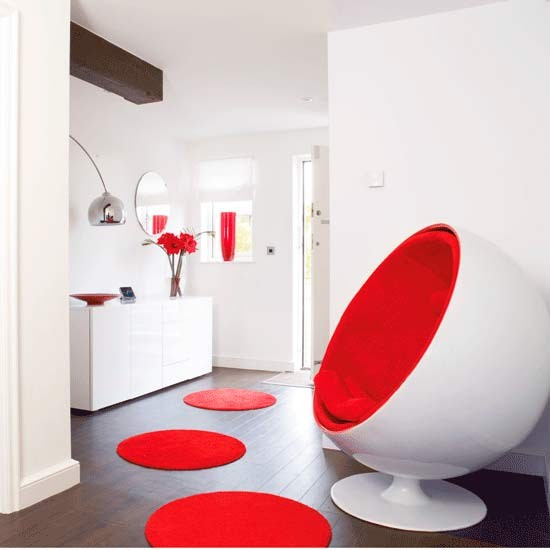 Retro Hallway Colour Schemes For Hallways 10 Ideas