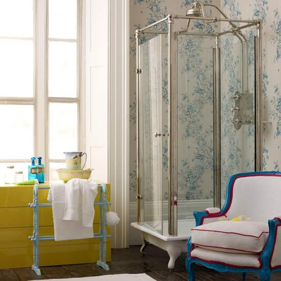 Vintage bathroom | Bathroom idea | Shower | Image | Housetohome.co.uk