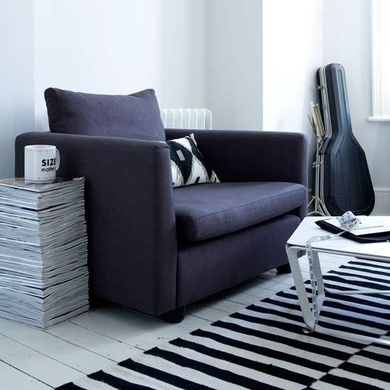 Sala de estar monocromático | Salões | idéias salas de estar | Imagem | Housetohome