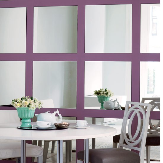 Mirrored dining room | Dining rooms | Decorating ideas | Image | Housetohome