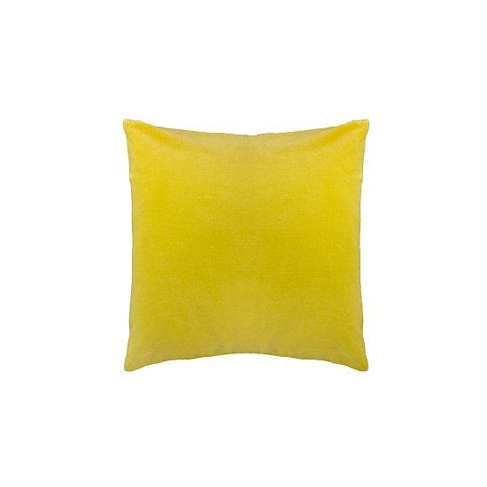 Velvet Cushion From John Lewis Yellow Accessories