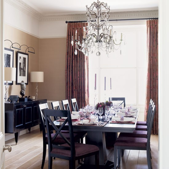 Glamorous dining room | Dining rooms | Decorating ideas ... - photo#4