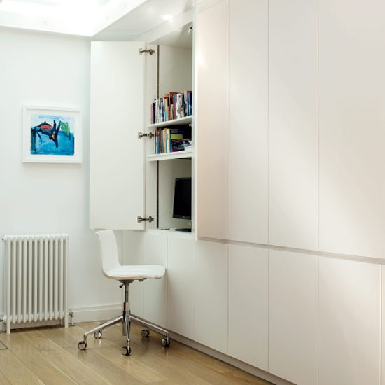 Secret home office area | Home office | Decorating ideas | Image | Housetohome